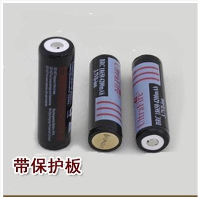 正品神火18650锂电池 进口4800mAh大容量 3.7V 强光手电筒