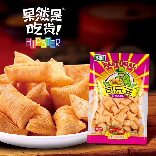 祺健薯片系列68g