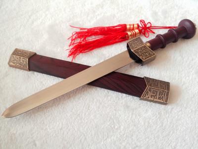 龙泉宝剑精品迷你仿古小玉剑观赏短剑把玩小剑未开刃