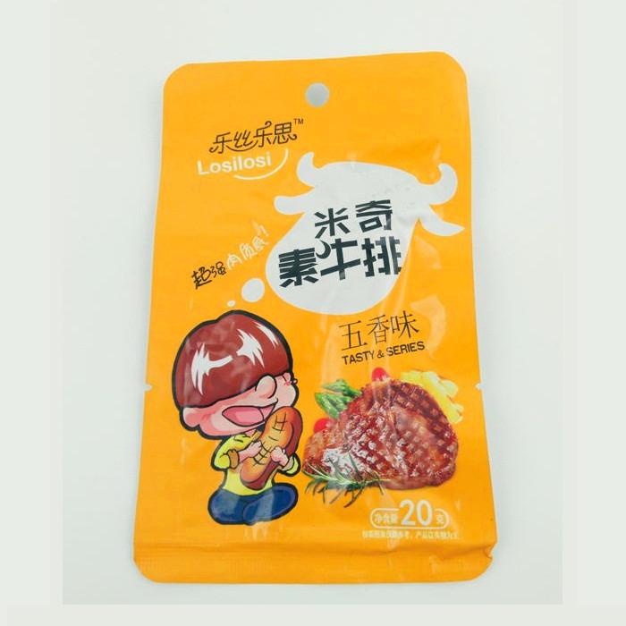 20g米奇素牛排(五香味)