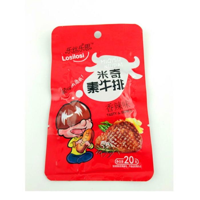 20g米奇素牛排(香辣味)