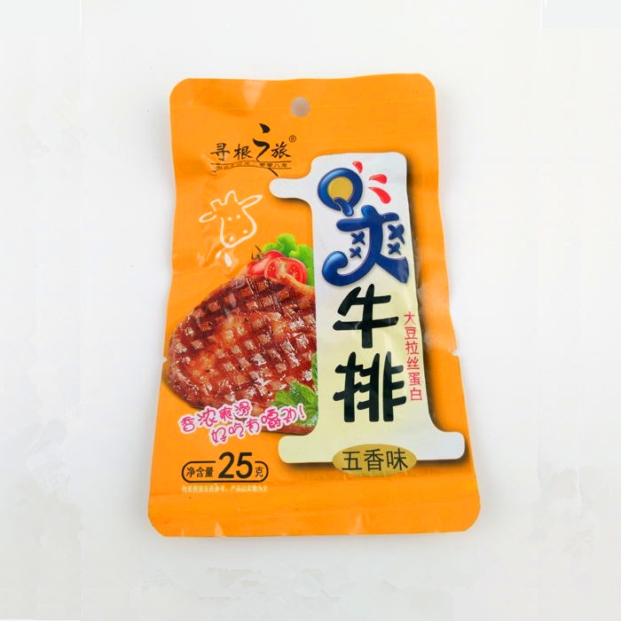 25gQ爽牛排(五香味)
