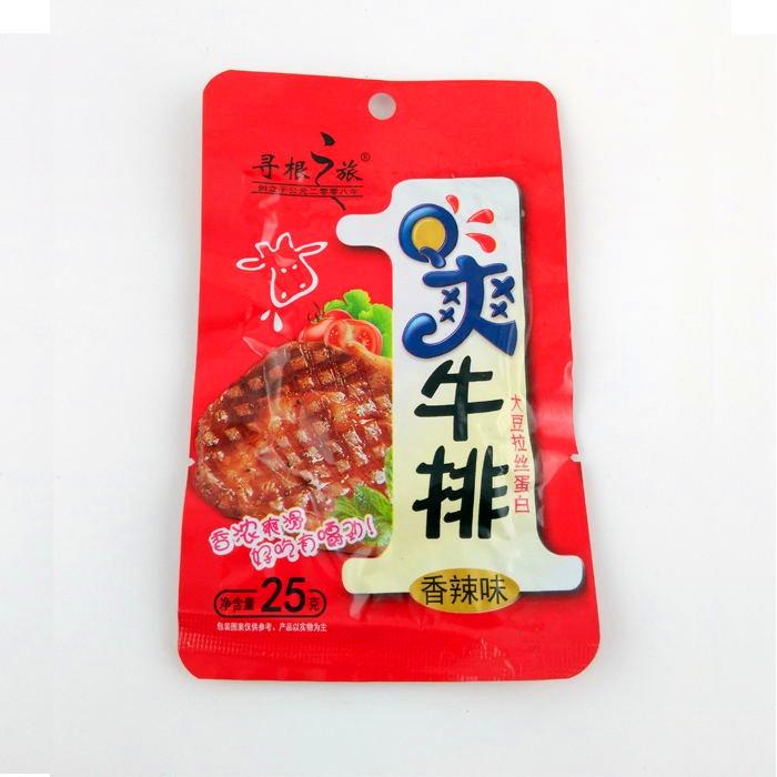 25gQ爽牛排(香辣味)