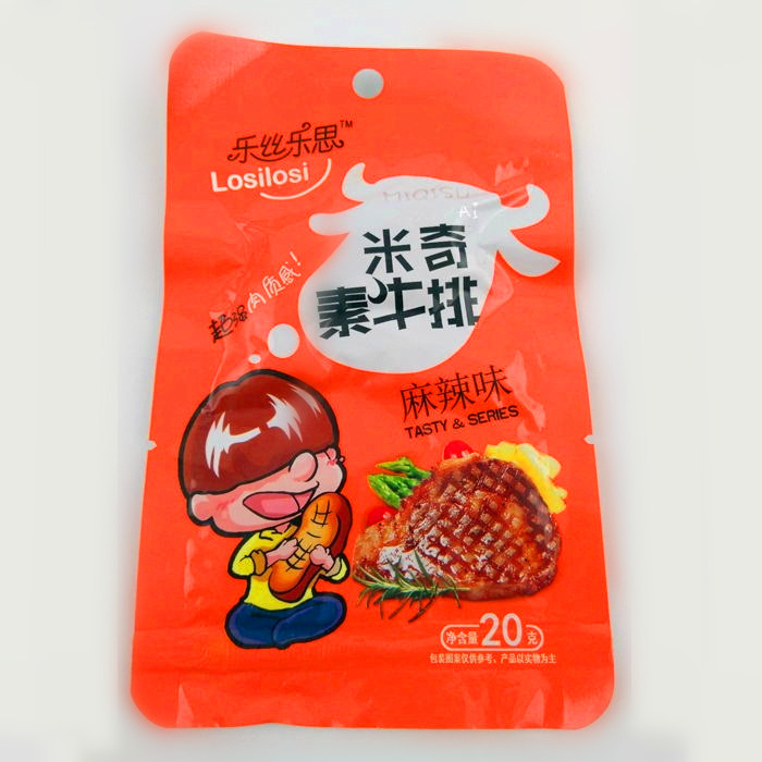 20g米奇素牛排(麻辣味)