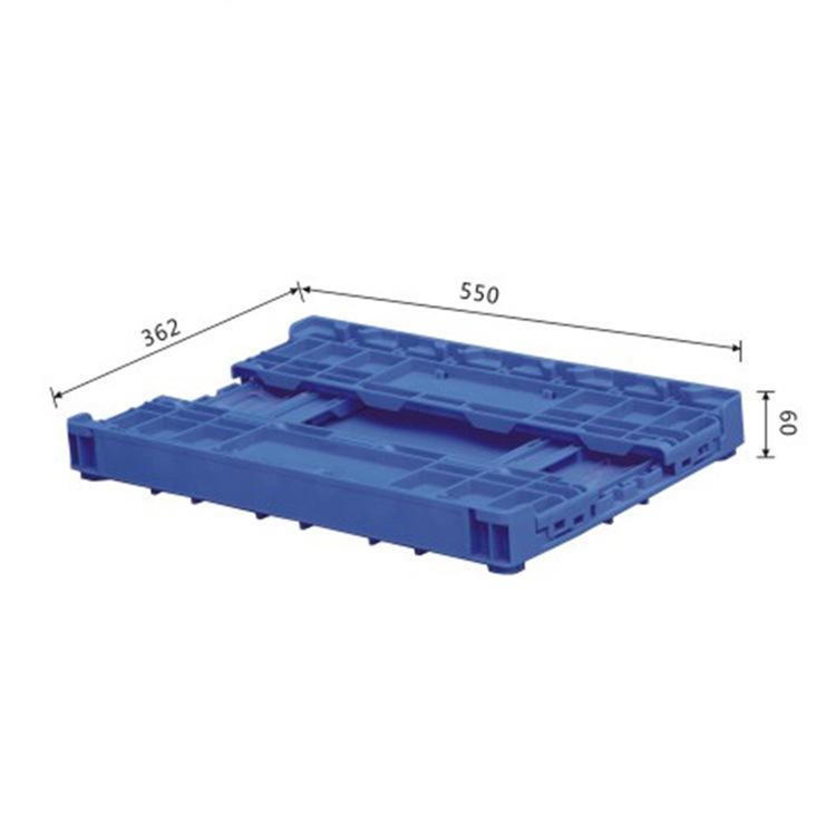 汽车专用折叠箱汽车冲压专用塑料箱汽车用品专用塑S504
