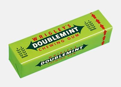 绿箭口香糖薄荷味3g*5片