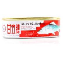 甘竹牌豆豉鲮鱼罐头227g 即食豆豉鱼罐头食品