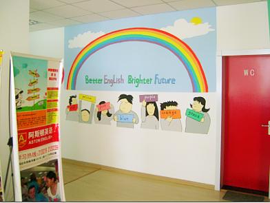 英语教室布置图片_设计图分享图片